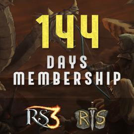 144 Days Membership